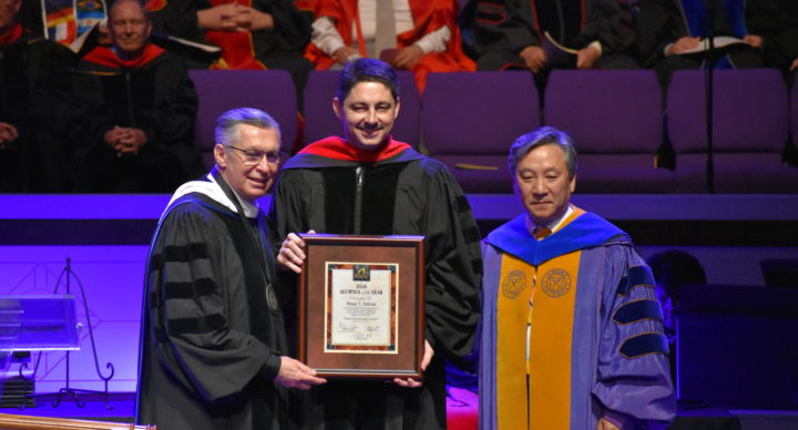 Sutton Named Pentecostal Theological Seminary Alumnus of the Year
