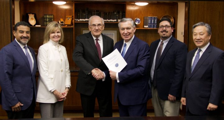 COGOP/PTS AGREEMENT SIGNED TO PROVIDE MASTERS PROGRAMS IN CENTRAL AND SOUTH AMERICA