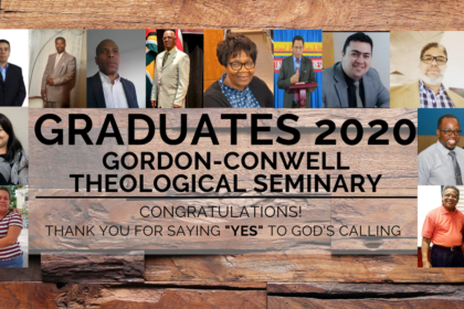 2020 Graduates Of Gordon-Conwell Theological Seminary