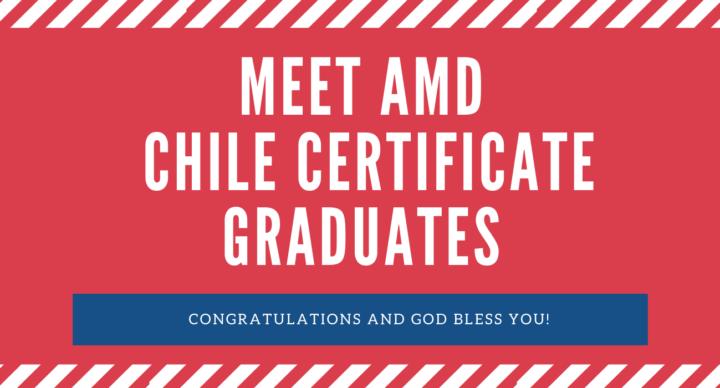 Certificate Chile Graduates