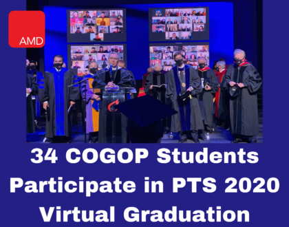 34 COGOP Students Participate in PTS 2020 Virtual Graduation