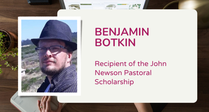 Recipient of John Newson Pastoral Scholarship